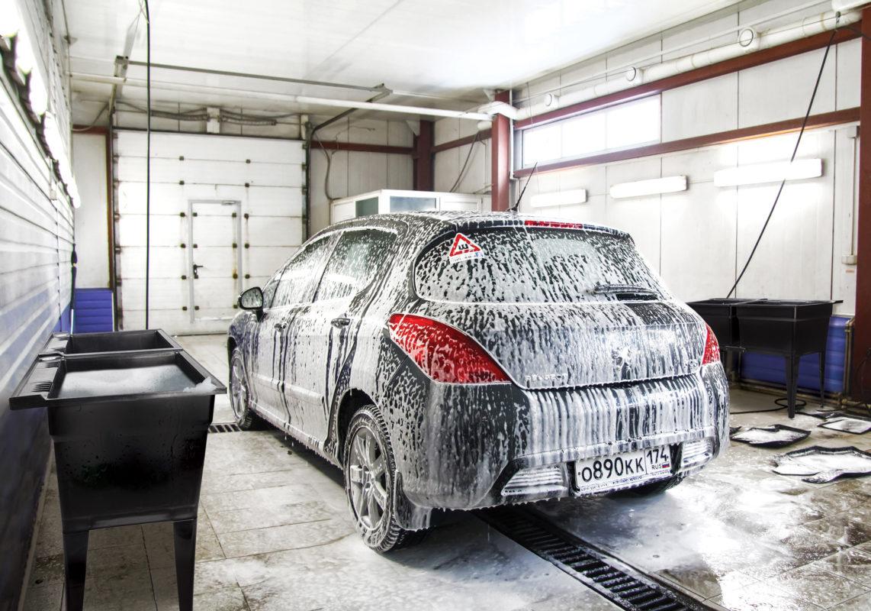 Cuve à lavage pour lave-auto